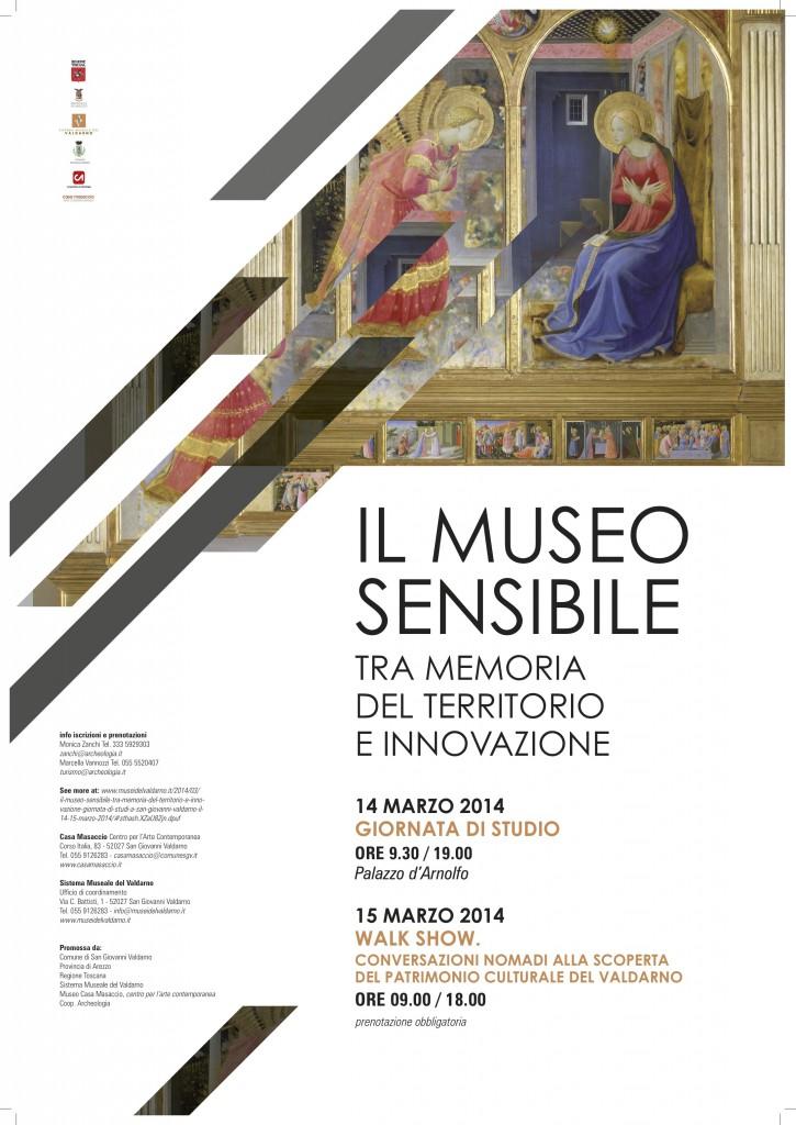 caption Il Museo Sensibile – Sistema Museale del Valdarno